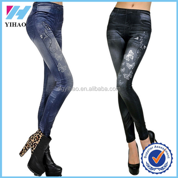 Oem Service Women Jeans Pent Hot Jeans Wholesale China High ...