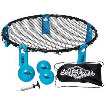 Sports Spydeball Game Set - Includes 3 Balls, Carrying Case and Rules - Played Outdoors, Indoors, Yard, Lawn, Beach