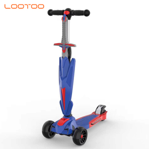 Musical ride on toy kid children scooter / 4 wheels multifunctional kid scooter / 2019 kids scooter