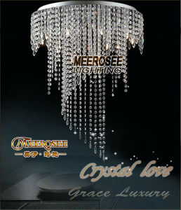 Spiral crystal ceiling lamp lustres crystals light Clear ceiling lighting Guaranteed 100% prompt shipping MD8551-L8