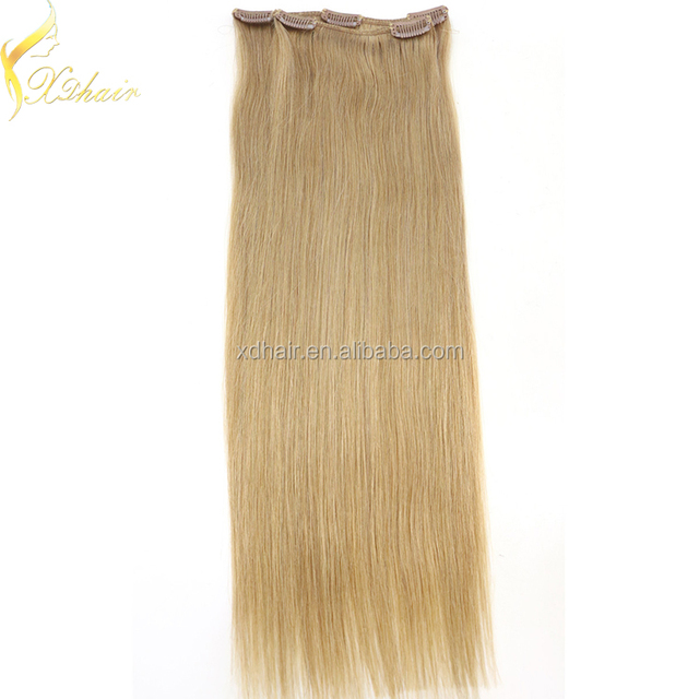 China Real Human Clip Hair Extensions Wholesale Alibaba
