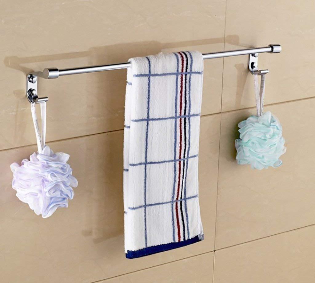 DACHUI Bath Bath Rooms Single Rooms rack towel rack Towel rail 304 stainless steel bath room towel rail