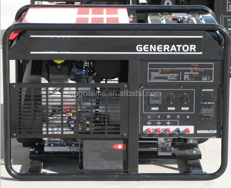 2019 HotSale Factory Price High Quality Inverter Portable Silent Three Phase DC 6.5kw Gasoline Engine Generator Set Manual Korea