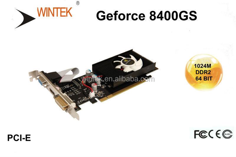carte graphique nvidia pas cher Le Moins Cher Pci Eress Pc Carte Graphique Nvidia Geforce 8400gs