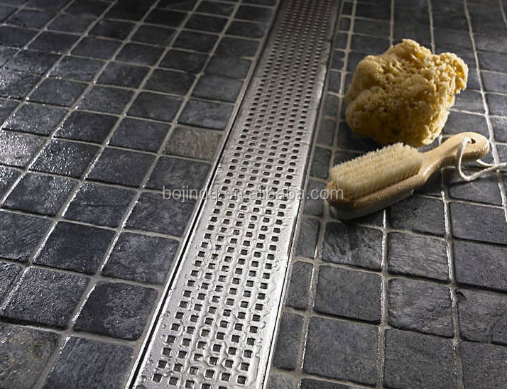 Commercial Kitchen Floor Drain Drainlinear Drainage Intended Design