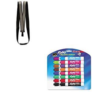 KITAVT75576SAN81045 - Value Kit - Advantus Recycled Breakaway Lanyard (AVT75576) and Expo Low Odor Dry Erase Markers (SAN81045)