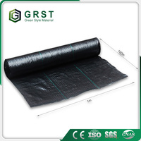 weed control mat, green ground cover, plastic mulch film