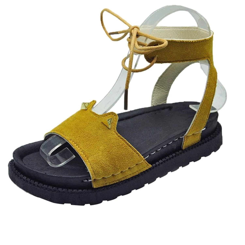 d14fe7993d8a Elastic Strap Block Heel Sandal for Women