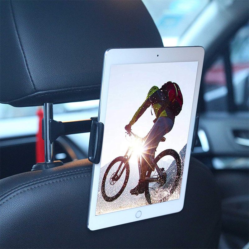 Universal Flexible Car Tablet Holder Back Seat Bracket Car Seat 360 Degree Rotation Headrest Mount Bracket Car Mount
