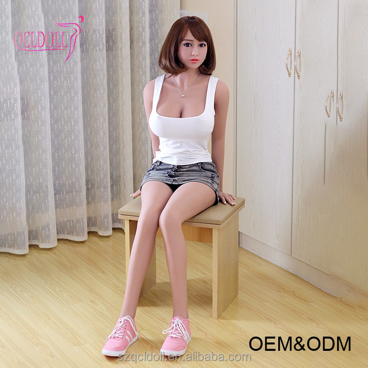 QCL DOLL new design high quality full solid silicone 140 148 158 165 168 CM TPE sex doll for men with metal skeleton