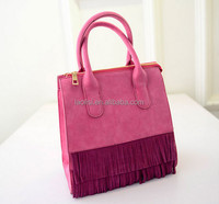 Guangzhou wholesale 100% nubuck leather adore ladies bags in china