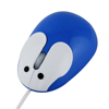 Rabbit style oem anti stress custom mini usb silicone wired optical mouse