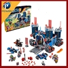 Science and technology mobile fortress Castle Lepin 14006 Building Blocks
