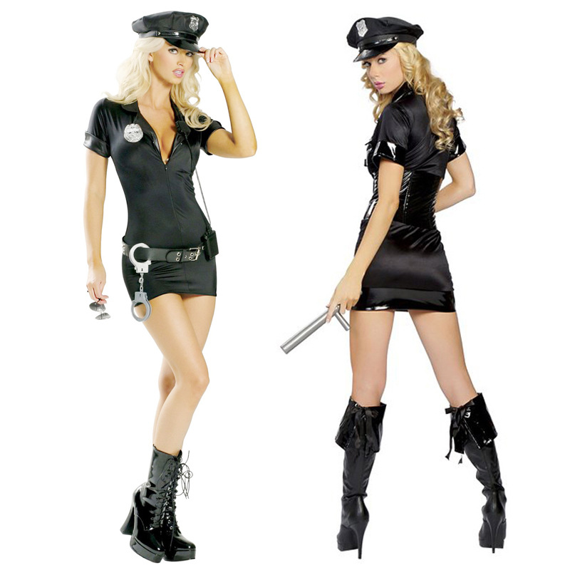 Sexy police officer halloween costume nude for woman  sc 1 st  Alibaba & Sexy Police Officer Halloween Costume Nude For Woman - Buy Sexy ...