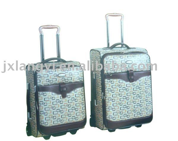 19''&23'' Printed Travel Trolley Luggage