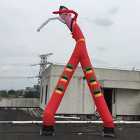 Inflatable advertising custom size air dancer dancing man / inflatable tube man rental / mini inflatable sky puppets dancer