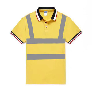 factory oem service custom designs reflective safety uniform wear work polo tee shirt