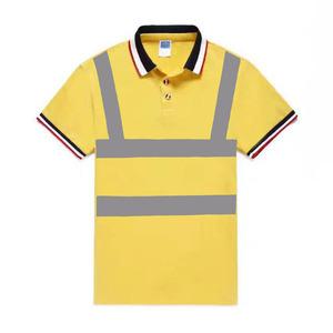 77e860ae factory oem service custom designs reflective safety uniform wear work polo  tee shirt