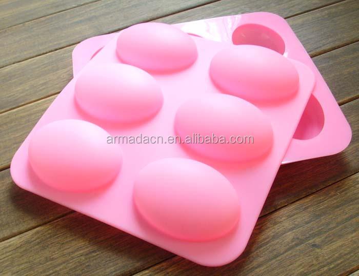 6 cavit brillant en forme de d me ovale silicone oeuf savon pour maison artisanat moule id de - Produit pour enlever le silicone sec ...