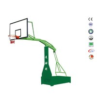 Safe door basketball hoop aluminum basketball pole