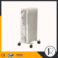 071812 Home appliances electric oil heater, With turbo fan home appliances brands
