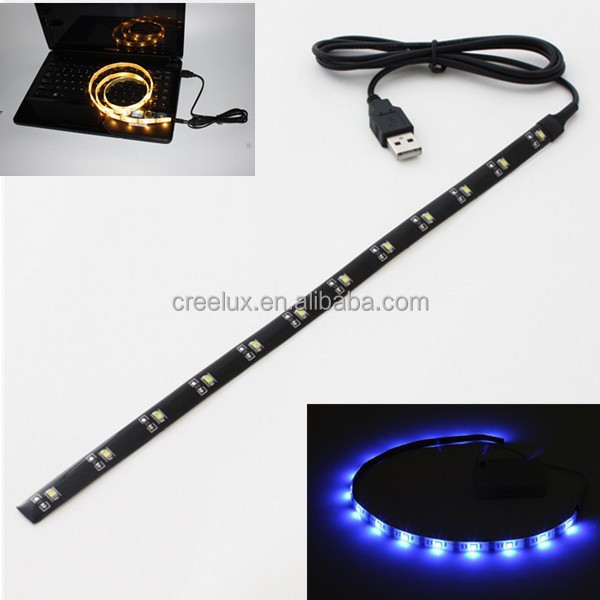 Aangedreven Door Tv Notebook Laptop Pc Computer Usb 5v Rgb Led Strip ...