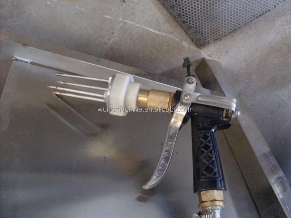 Manual ham saline injection machine/Pig Meat injector machine/Saline Breast  Injections
