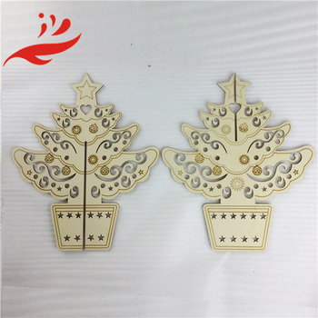 factory direct xmas tree, wooden Christmas trees for sale