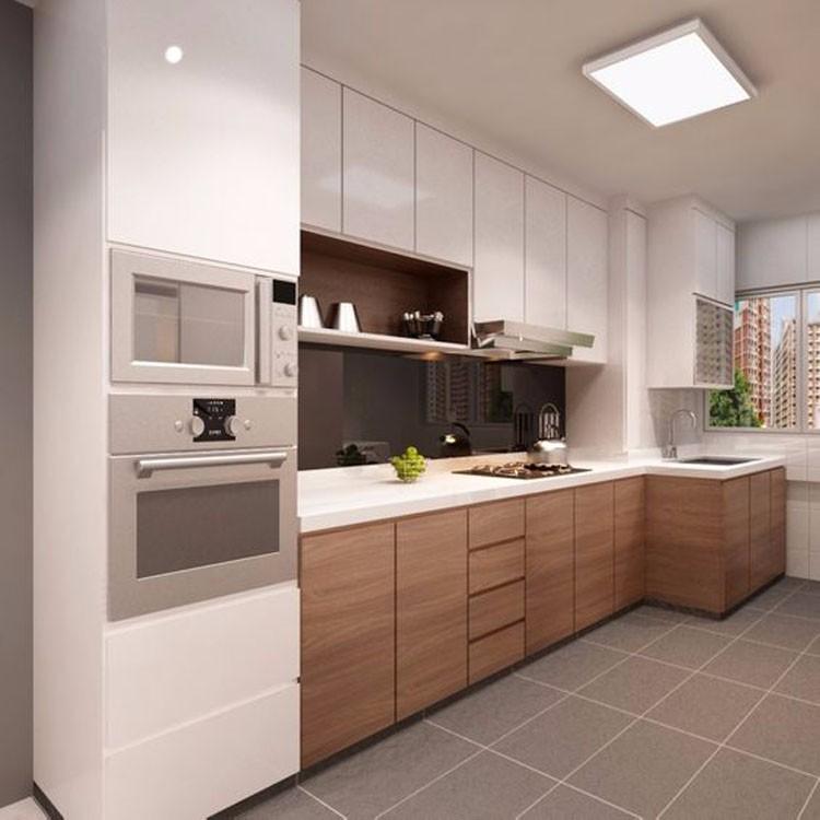 Pvc Laminate Wood Complete Hanging Kitchen Cabinet Sets Design - Buy Pvc  Laminate Kitchen Cabinet Door,Kitchen Cabinet Complete,Hanging Kitchen ...