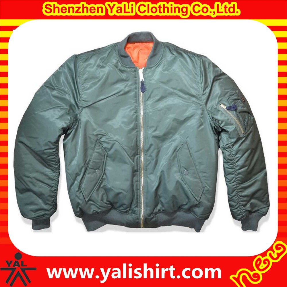 hot sell wihter jacket newest cotton with wholesale nylon bomber jackets made in china