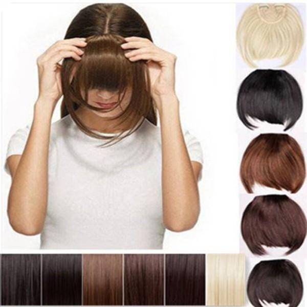 Cute hair bangs womens oblique bangs headband style hair extension cute hair bangs womens oblique bangs headband style hair extension pmusecretfo Image collections