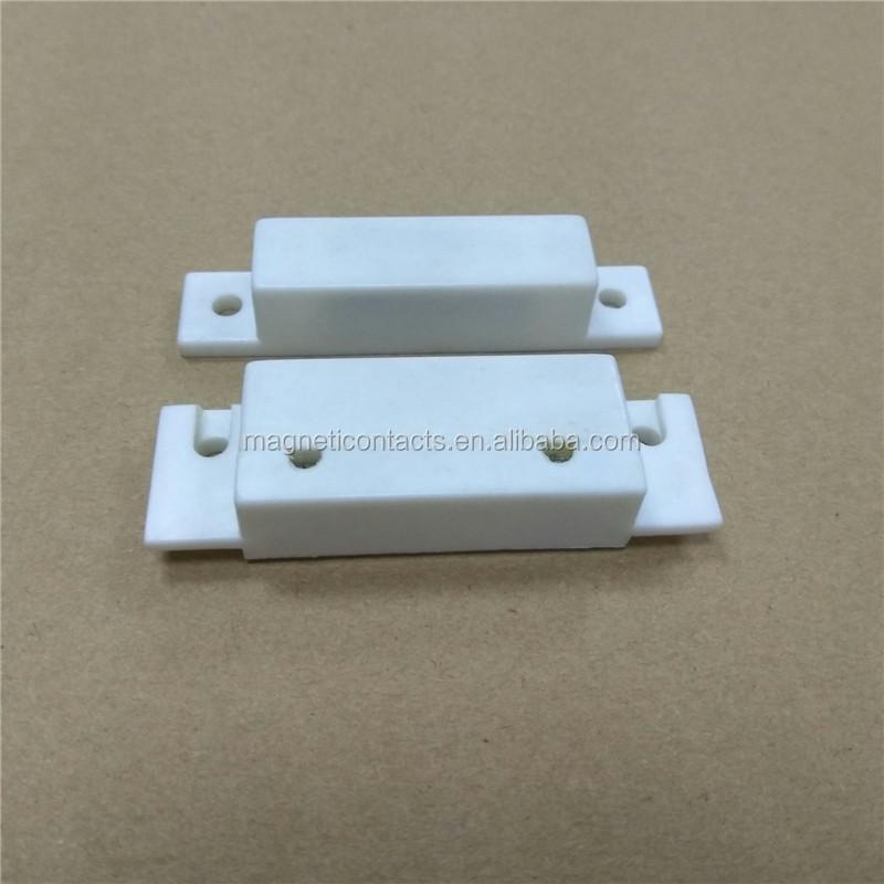 NC NO Tipo Puertas con Cable Ventana Alarmas de Seguridad magn/éticas Sensor de Contacto Detector Interruptor de l/áminas