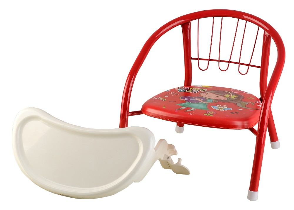 Best Price Colored Metal Plastic Small Baby Sitting Chair