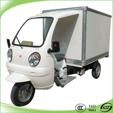 Popualr 150cc 200cc 3 wheeled motorcycle with closed box