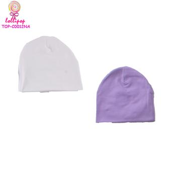 eb60bdaf3d8 Hot sale organic spandex cotton baby boy newborn cotton beanie fedora hat