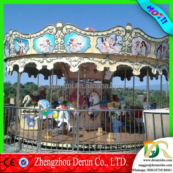 <strong>Video</strong> Available!!! DERUN RIDES 2016 top selling coin operated games indoor amusement park rides electronic kids rider carousel