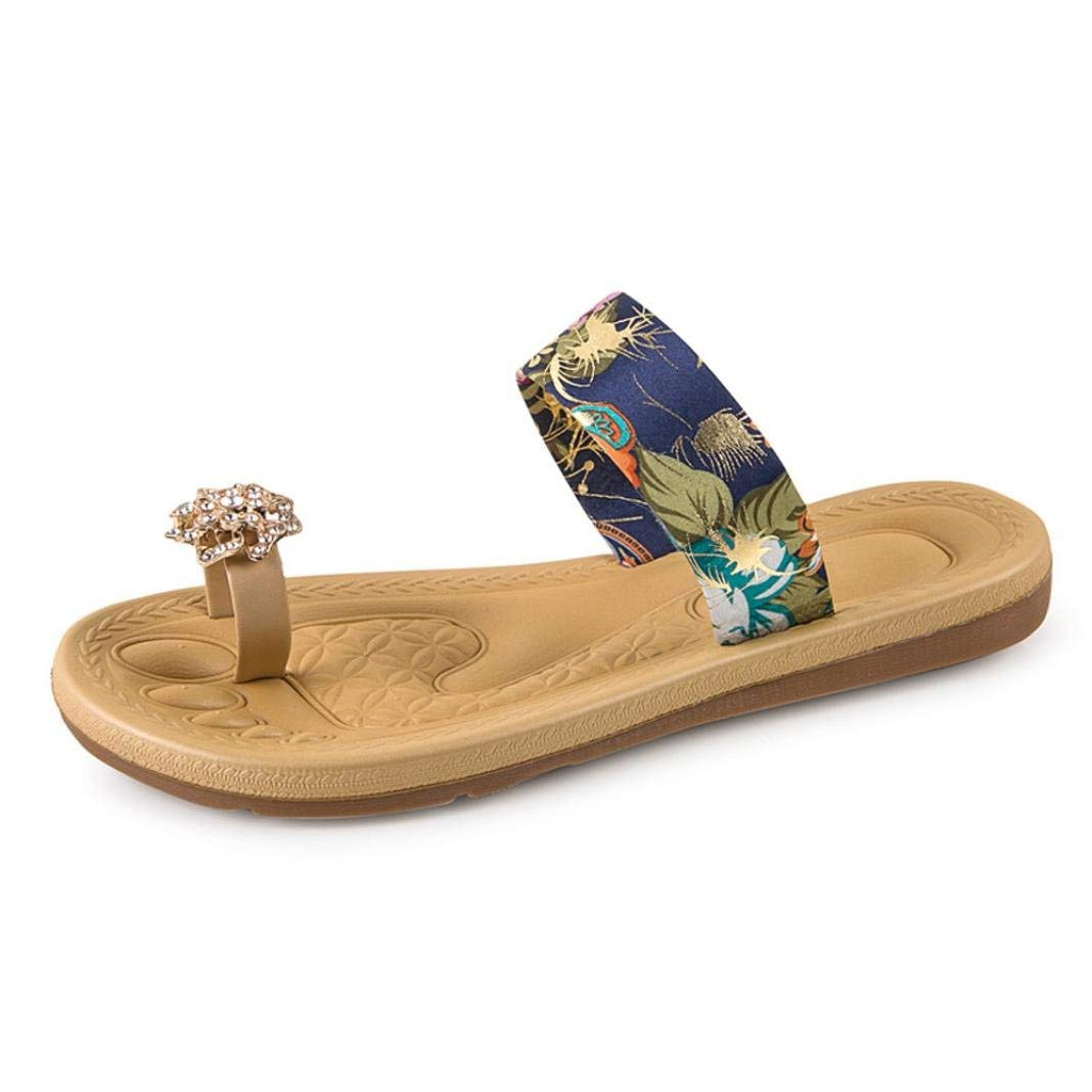 G&Kshop Women Flip-Flop Summer Flat Sandals Beach Bohemia Shoes Outdoor Slipper New