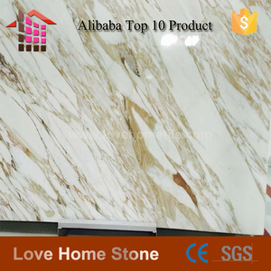 Hot sale italy calacatta gold marble slabs with gold veins