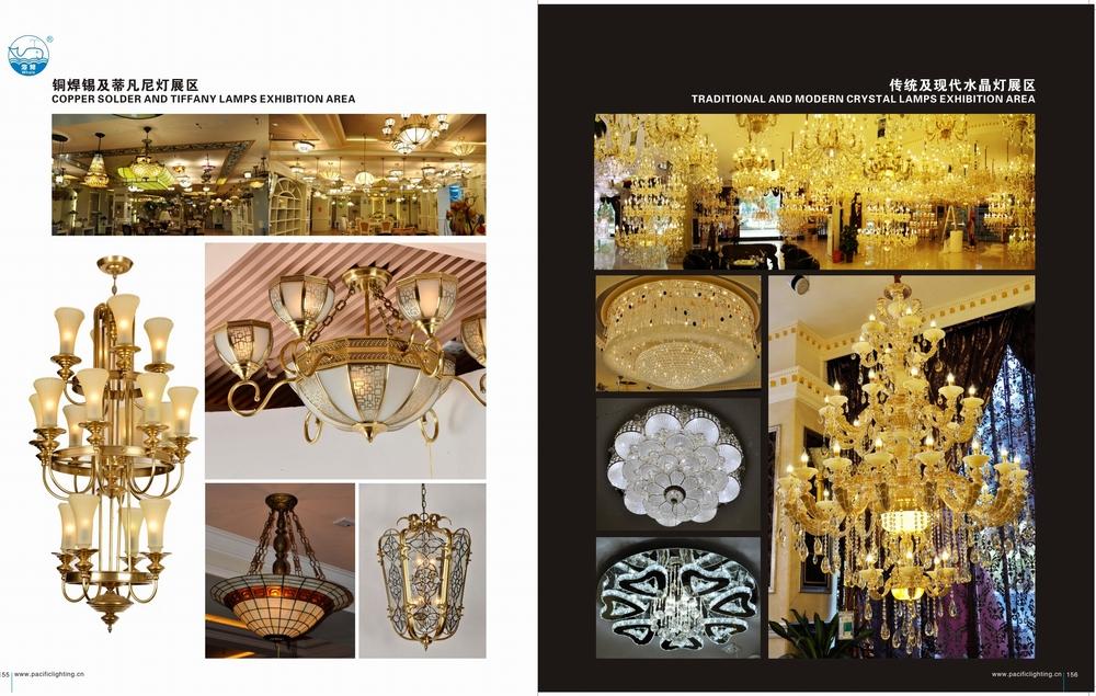 Modern Elegant Pendant Lamp Retro Baccarat Chandelier