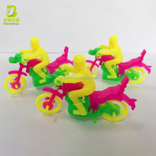 Promotional Kinder Joy Plastic Motorcycle Model Toys in Bulk