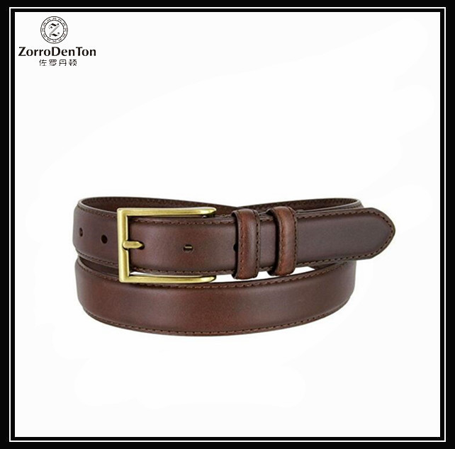 Custom Oil-Tanned Genuine Italian Leather Dress Belt for Men Manufacturers