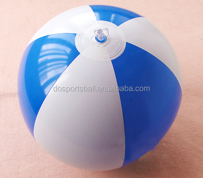 30cm 6P Free Print Logo PVC Inflatable toy Ball Advertising Beach Ball