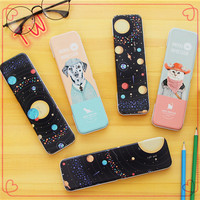 Thailand latest popular stationery items promotion wholesale gifts unusual metal pencil case ,pen cases free sample