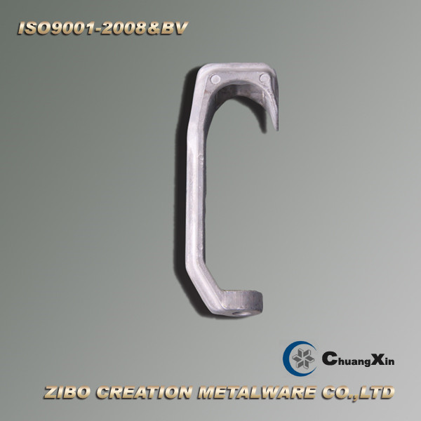 Aluminum Gravity Casting Red Meat Hook For Butcher Equipment