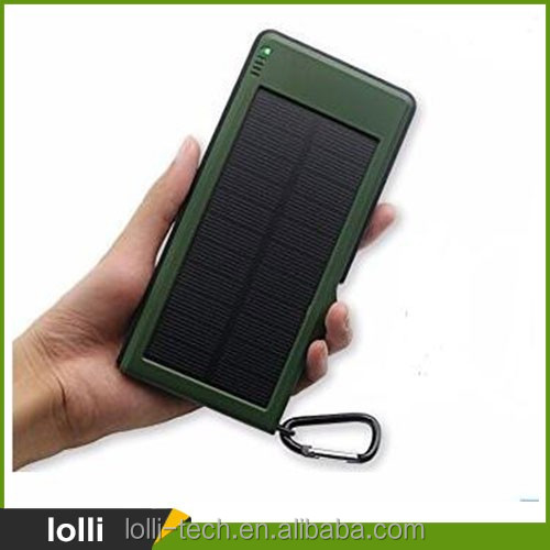 New Products Looking For Distributor Rohs 10000mAh FULL 10000mA Solar Power Bank with LED Flash Light