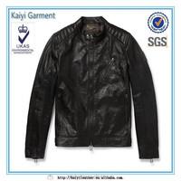 2015 wholesale man distressed brown leather jacket