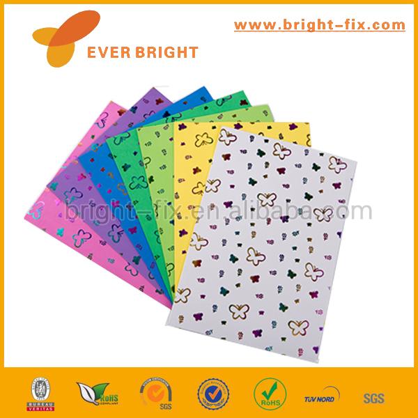 Hojas de espuma de artesanía Brillo 2mm de espesor EVA almohadillas Niños Niños hojas de arte y artesanía