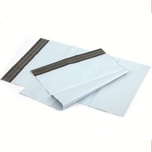 Grey Poly Mailers Postal Envelope Shipping Bags