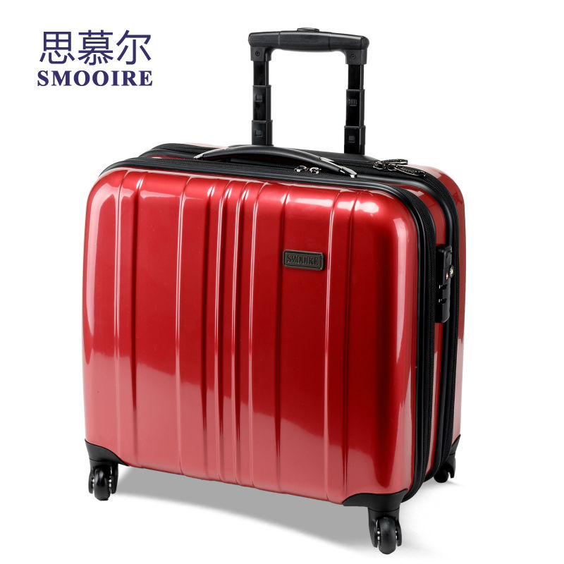 men wheeled new polycarbonate pc business trolley laptop. Black Bedroom Furniture Sets. Home Design Ideas