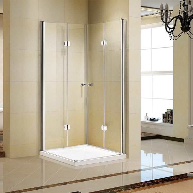 Luxus Gehärtetem Glas Anpassen Größe Rahmenlose Glas Dusche ...